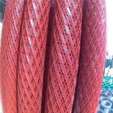 旺来包边碳钢钢板网 菱型钢板网尺寸 围栏钢网