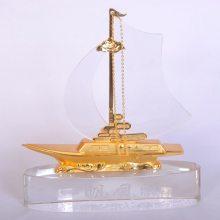 金属帆船礼品,企业年会纪念品,商会挂牌仪式留念,送员工,送同学,送老师礼品