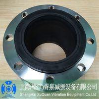 优质异径变径橡胶接头,上海胥泉耐酸碱DN65*80同心异径橡胶接头厂家