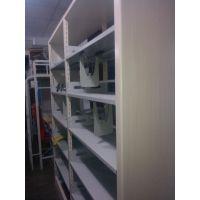 供应新疆红光牌HG-1000型图书馆钢制双面书架