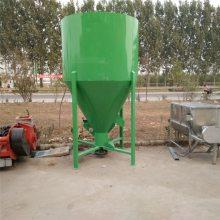 长期供应小型立式饲料搅拌粉碎机 多功能混合饲料粉碎搅拌一体机 宏瑞厂家