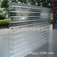 【实地认证】上海pc阳光板材厂家 8mm聚碳酸酯板材 透明阳光板材