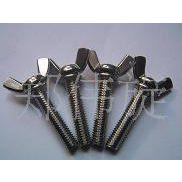 蝶形螺丝 不锈钢蝶形螺丝 翼形螺丝 Y形螺丝 手拧螺丝 螺栓批发