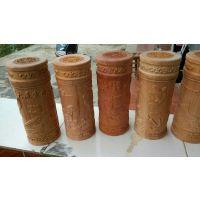 红豆杉浮雕茶杯 水杯 创意礼品 木质工艺品 厂家直销
