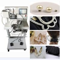 自动钉珍珠机泡珠机 浙江义乌商品城 围巾手套服装饰品专用