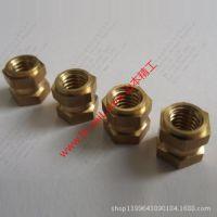GB/T809铜嵌件螺母,非标铜件,带垫铜螺母,拉花螺母嵌件