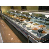 供应安徽阜阳熟食柜厂家,熟食保鲜冷藏展示柜价格卤味展示柜