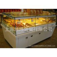 面包展示货架双面面包中岛柜 面包柜台 面包货架设计厂家直销