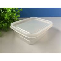 一次性打包盒 塑料保鲜盒 快餐外卖打包饭盒 透明PP餐盒批发