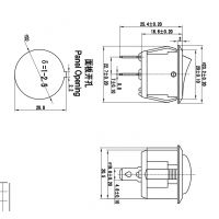 供应高田电子|KCD1-201|船型开关|专业船型开关厂|环保质量好