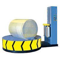 无纺布包装机圆筒纸缠绕包装机水刺无纺布包装机圆筒式在线缠绕包装机
