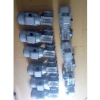 奉贤南桥套标机专用欢鑫涡轮减速机RV050/15-F YS8024-0.75KW