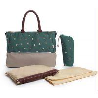 華雅制造 高品质 多功能 防水牛津妈咪包 大容量妈咪袋 时尚环保妈妈包