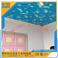 PVC竹木纤维墙板机器配置清单及技术参数