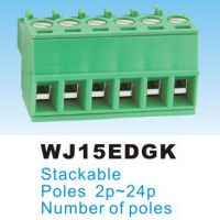 厂家(热销)3.81插拔式接线端子KF,DG,WJ 15EDGK-3.81