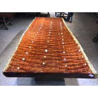 供应巴西花梨木实木大板茶台书桌办公桌茶桌红木大板高端红木家具