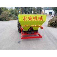 厂家供应单双圆盘撒肥机 拖拉机悬挂式施肥机械