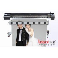 乐彩压电写真机打印冰晶画特点