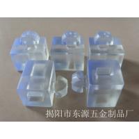 工业铝型材欧标隔板连接配件固定板 透明胶粒 透明间隔块