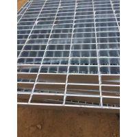 镀锌平台钢格板@38mm高污水处理厂钢制沟盖格栅板