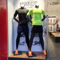 运动假肌肉模特道具女男全身服装店假人体育陈列人台橱窗展示架