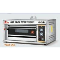 新款批发零售 一层二盘燃气炉 天然气烘炉 燃气烤炉 商用燃气烤箱