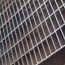 专业检修平台钢格栅板 镀锌钢格栅板规格优盾牌
