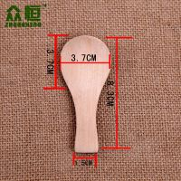 厂家批发面霜勺 天然竹木制面膜勺 面霜棒 面膜工具