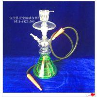 天宝乐TB1247玻璃水烟枪,江苏水烟壶生产厂家