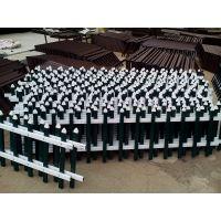 厂家供应各种护栏市政绿化pvc草坪塑钢护栏园林小区花园锌钢栅栏