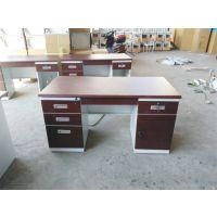 钢制办公桌定做学习桌电脑桌山西信通家具厂家销售