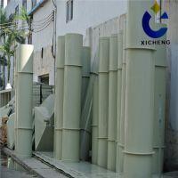 厂家订做大口径塑料风管空气净化设备 低价直销pp管材 量大从优