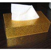 亚克力纸巾盒  面巾纸盒子  抽纸盒 面巾纸架 抽纸纸盒