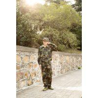 高校军训服装批发厂家(军训服装,美式斜纹迷彩服)