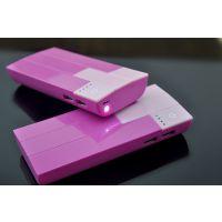 供应工厂直销 高转换率足2.1A输出 手机通用充电宝 可印企业LOGO