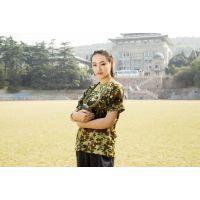 武汉银莱制衣迷彩T恤短袖01体能训练服