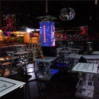 彩能光电 P4室内全彩屏 P4酒吧四方立柱全彩屏 酒吧 KTV 夜场专用常规屏