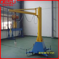 上海移动式KBK悬臂吊、苏州工厂手推式旋臂吊、125kg手拉式旋臂起重机
