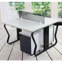 厂家出售定制各种屏风办公桌简约办公桌培训桌