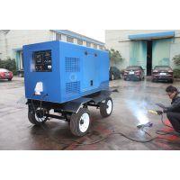 500A柴油机驱动电焊机,自带移动式拖车,焊机电流稳定