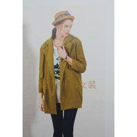 广州品牌女装尾货库存批发 布卡拉女装外套原单尾货折扣库存批发货源