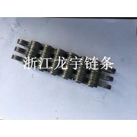 供应LH2034板式链条 BL1034叉车举升机起重机板式链条厂家龙宇