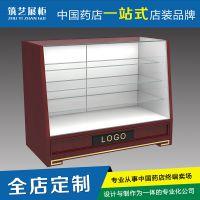 【全网热销】专业生产中式矮柜 药店整体装修 烤漆免漆展示柜