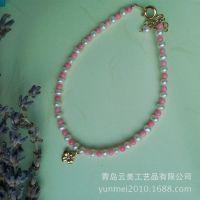 特价高品质精品新款迷你珊瑚珠手链批发  青岛饰品工厂直销