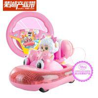 迪士尼正品授权2015新款美羊羊重力感应悬空遥控玩具车 厂家批发