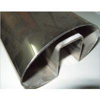 316不锈钢椭圆单槽管,优质保量