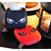 现代可爱龙猫情侣充电宝卡通Q版充电宝手机通用移动电源
