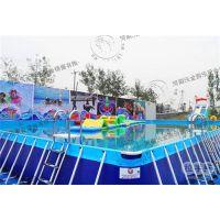 移动支架游泳池、吕梁市支架游泳池、河南沃金