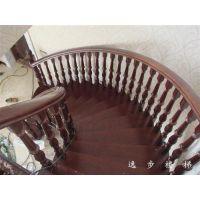 室内旋转楼梯装修、武汉室内旋转楼梯、逸步楼梯