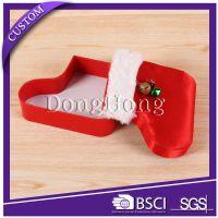 z7025东鸿定制高端圣诞节糖果礼物盒 结婚喜糖礼品盒 鞋型巧克力糖果包装盒